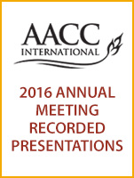 2016 AACCI Annual Meeting Presentations