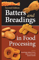 Batters and Breadings in Food Processing, Second Edition